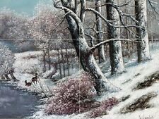 Forest In Winter Tile Mural Kitchen Bathroom Wall Backsplash Ceramic 17x12.75