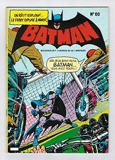 1976   FRENCH COMIC FRANÇAIS EDITION INTERPRESSE  BATMAN   # 60  -  AT
