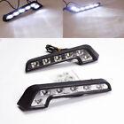 LED Driving Lamp Fog 12V DRL Daytime Running Light White for Car Auto 2PCS