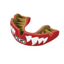 OPRO Protège-dents Puissance à installer pour adultes agression Mâchoires rouge bouclier boxe MMA