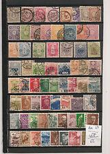 330 timbres du  Japon oblitérés ; tous  de  belle  qualité  .