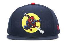 size 40 6a5ab a3065 New Era Spiderman (Web Slinging) Navy Snapback
