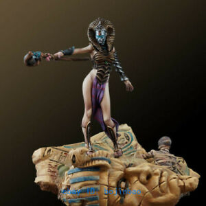 1/32 Scale 54mm Egypt Queen Figure Unpainted Model Kits Unassembled Garage Kit
