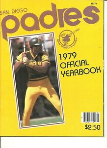1979 San Diego Padres MLB Baseball Yearbook Dave Winfield Fingers Perry R Jones