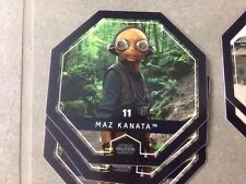 jeton STAR WARS Rogue One Cosmic Shells LECLERC 2016 - n° 11 MAZ KANATA