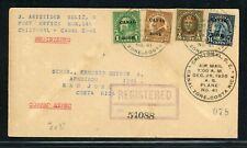 Canal Zone First Flight Cover LOT #15 CZSG #7 1926 CRISTOBAL - SAN JOSE CR #3 $$