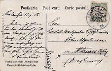German South West Africa postcard with OKAHANDJA cancel