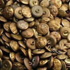 6x WW1 / WW2 British Army General Service Tunic Buttons 24mm NON-MATCHING Set