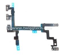 For iPhone 5 Power Flex - Lock Ribbon On Button - Volume Mute Cable Apple