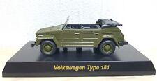 Kyosho 1/64 VW VOLKSWAGEN TYPE 181 GREEN diecast car model