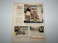 Vintage Kelvinator Refrigerator 1949 Magazine Ad