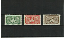 French China Indochina Vietnam Mythological Dance Vichy Type Complete Set of 3