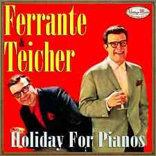 FERRANTE & TEICHER CD Vintage Dance Orchestra / Piano Lounge , Oldies Two Pianos
