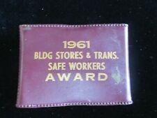 VINTAGE IMPERIAL PROV. U.S.A. KNIFE 6pc SET 1961 BLDG STORES SAFETY AWARD RARE