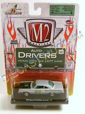 1969 '69 PLYMOUTH ROAD RUNNER 440 SIX-PACK 12-38 R18 M2 MACHINES DRIVERS DIECAST