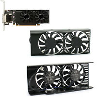 2pcs GPU Cooling Fan Replace Part HA5510M12F-Z For MSI Geforce GTX 1050 2GT LP