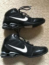 hot sale online e9a7e e484b Nike Shox Shocks Zoom Air Men s Size 8 Hi Top Basketball Black Athletic  Shoes