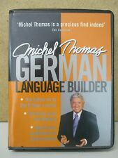 MICHEL THOMAS- LEARN GERMAN LANGUAGE BUILDER 2-CD (TO SPEAK/COURSE/VOCABULARY)