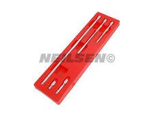 """Neilsen 3/8"""" unidad Bamboleo tambaleante Extensión Set Bar 38 75 150 250 450MM"""