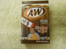 12 Boxes ~~ 72 Packets A&W ROOT BEER Singles to Go Drink Mix  Exp. MAR 2021