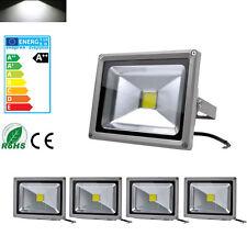 5X 20W Cool White LED Floodlight Outdoor Garden Flood Light Landscape Lamp IP65