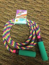 NEW with Tag Vintage Imperial 1995 Swivel Jump Rope Dura-Fiber Washable 90s 80s
