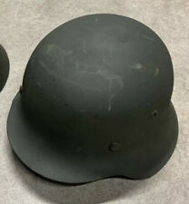 At The Front Restored M40 Wwii German Helmet. Size 68 Shell!
