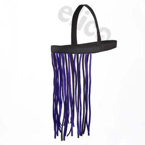 Elico Fly Fringe Elasticated Headpiece & Throatlash NO HEADCOLLAR REQD