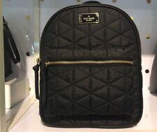 Kate Spade Wilson Road Quilted Small Bradley Black Nylon Backpack WKRU4752 $279