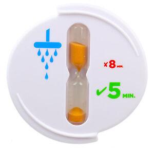 Shower Timer - Eco Water Saving - 5 Minute Bathroom Tooth Brushing - Waterproof