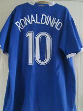 Brazil 2006 Ronaldinho 10 Away Football Shirt Size XXL /40585