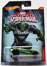 Hot Wheels Marvel Ultimate Spider-Man 2015 Battle Spec 1/64 Rare Die-Cast Car