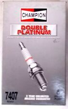 Champion Spark Plug Double Platinum RS14PLP Stock # 7407 Box Of 6 Plugs