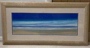 Jonathan Shaw Original Oil Painting Of A Stunning Beach Landscape
