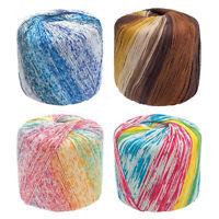 40g 100% Baumwolle Garn, 8 Stränge, Super Weiche für Stricken Häkeln Weben DI