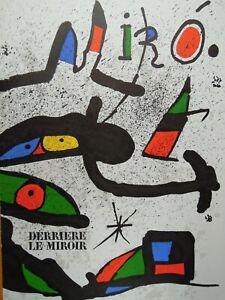 Derriere Le Miroir ~ DLM ~ Miro ~ No. 231 ~ Complete
