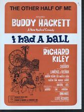 The Other Half Of Me 1965 Buddy Hackett in I Had A Ball Sheet Music