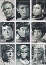 STAR TREK THE ORIGINAL SERIES 40TH ANNIVERSARY PORTRAITS INSERT SET PT1-PT18 18