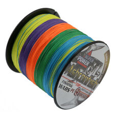 500M 80LB Ashconfish Strong 100% PE Dyneema Multicolor Braided Sea Fishing Line