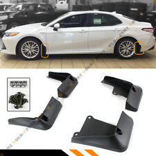 FOR 2018-2020 TOYOTA CAMRY LE XLE 4 PCS FRONT+REAR SPLASH GUARDS MUD FLAPS SET