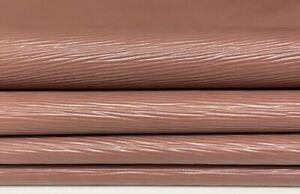 DEEP NUDE EPI LV textured Lambskin Lamb leather 2 skins 11sqf 0.7mm #A7423