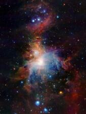 SPACE INFRARED VIEW ORION NEBULA 12 X 16 INCH ART PRINT POSTER PICTURE HP2562