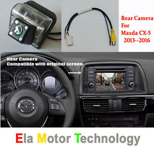 Car Rear Reverse Camera For Mazda CX 5 CX-5 CX5 2013~2016 RCA& Original Screen