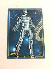 ULTRON MARVEL FIGURE FACTORY SERIES 1 TRADING CARD 7