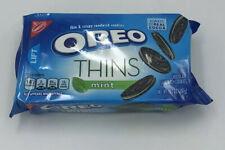 NEW NABISCO OREO THINS MINT CRISPY CHOCOLATE SANDWICH COOKIES 10.1 OZ PACK