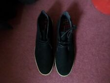 NEW LOOK MENS BLACK SHOES - SIZE 9