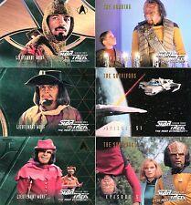 Lot de 6 Cartes STAR TREK Neuves lot N° STT6 003