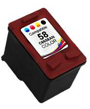 1PK Ink For HP 58 HP58 C6658AN Photo Color Deskjet 5150 9670 D1430 F2180 F2140