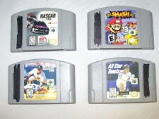 Lot Of 20 Nintendo 64 N64 Games & Transfer Pak Donkey Kong Smash Bros Star Wars