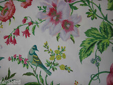 "SCHUMACHER CURTAIN FABRIC DESIGN ""Avondale Floral"" 2.4 METRES MEADOW (240 CM)"